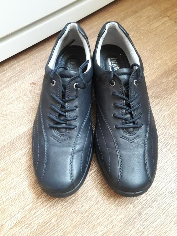 Кожаные туфли на шнурках hotter 38 размер