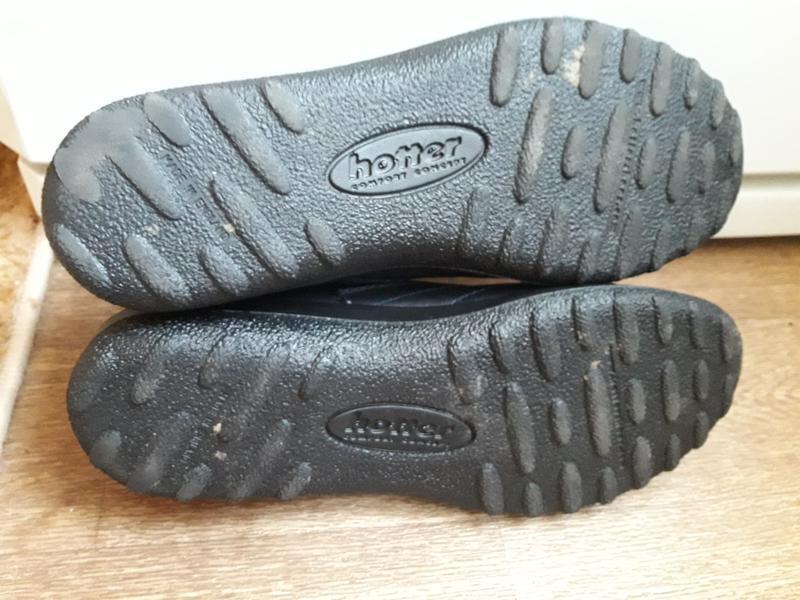 Кожаные туфли на шнурках hotter 38 размер - Фото 5