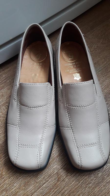Кожаные туфли hotter 38 размер англия  оригинал