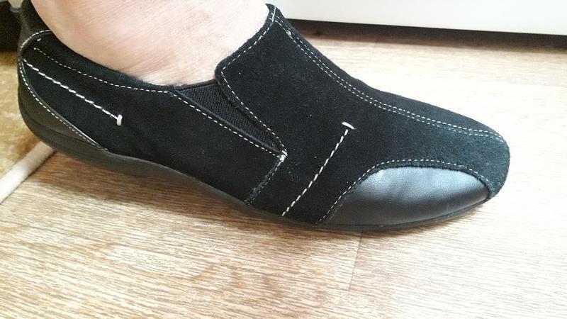 Замшевые туфли мокасины 39 размер