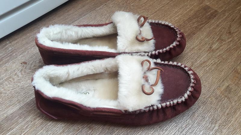 Туфли тапочки на меху hotter - Фото 2