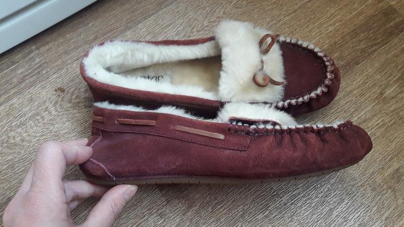 Туфли тапочки на меху hotter - Фото 3