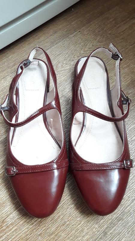 Летние туфельки next 38.5 размер