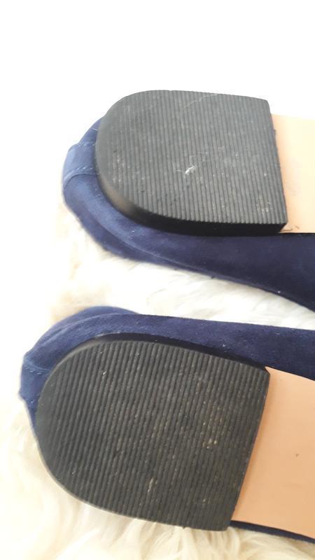 Замшевые балеточки asos 37.5- 38 размер - Фото 6