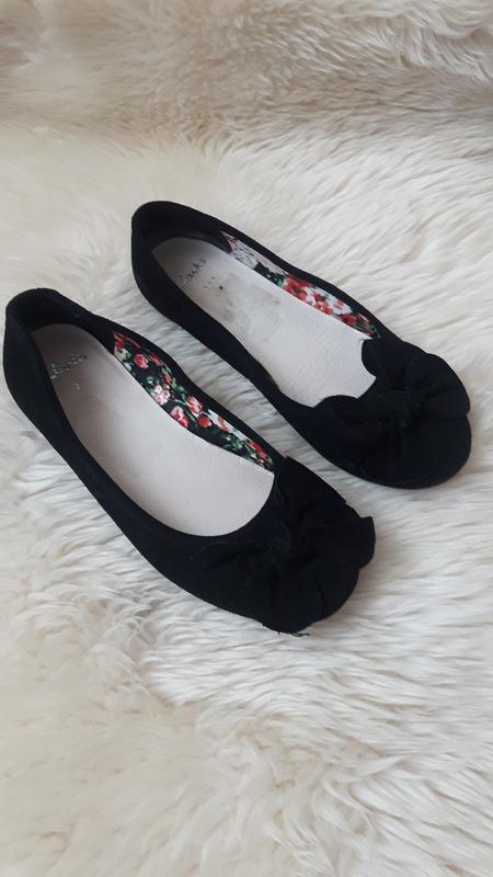 Замшевые туфли  мокасины clarks 35 размер