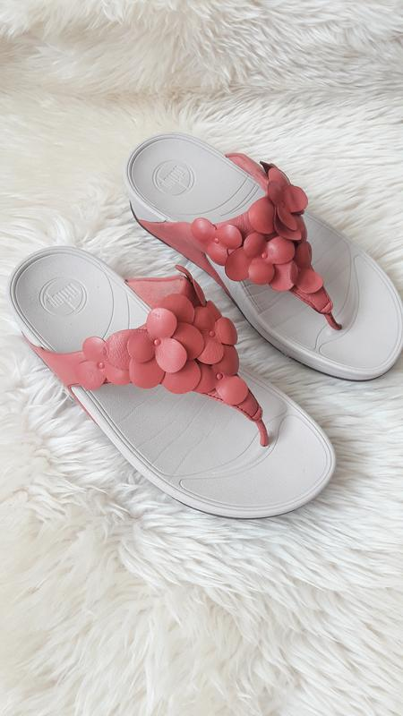 Кожаные шлепки сандалии fitflop 38 размер   оригинал!