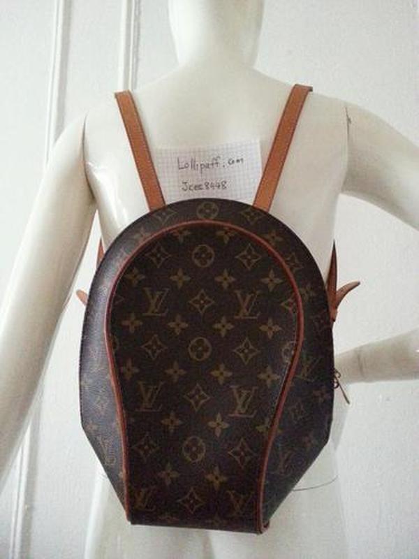 Кожаный номерной рюкзак louis vuitton оригинал!!!