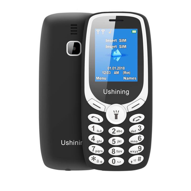 Мобильный телефон Ushining U181 две СИМ-карты - Фото 2