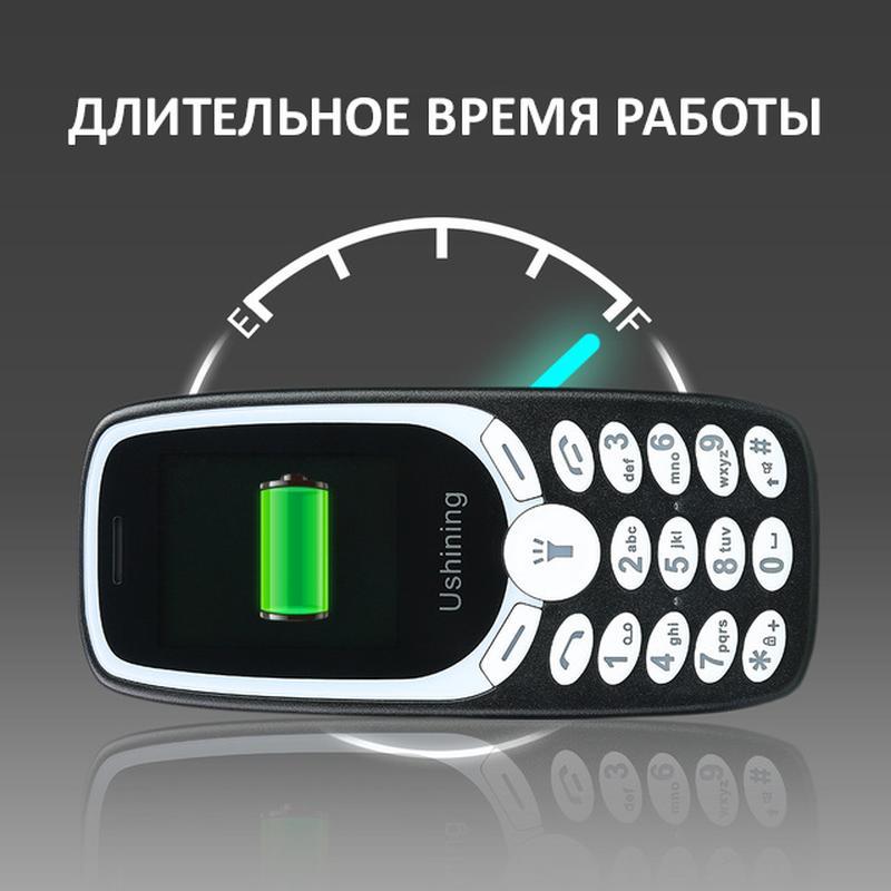 Мобильный телефон Ushining U181 две СИМ-карты - Фото 3