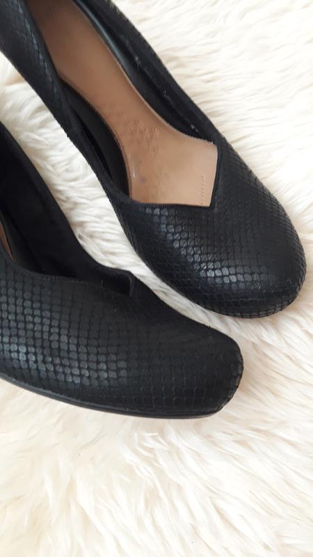 Кожаные туфли clarks 39 размер - Фото 3