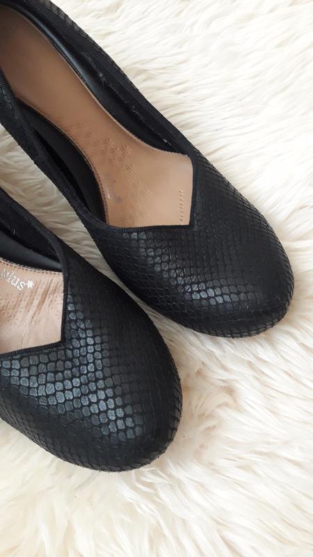 Кожаные туфли clarks 39 размер - Фото 4