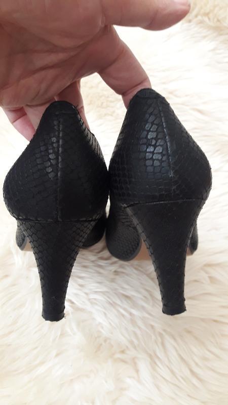 Кожаные туфли clarks 39 размер - Фото 5