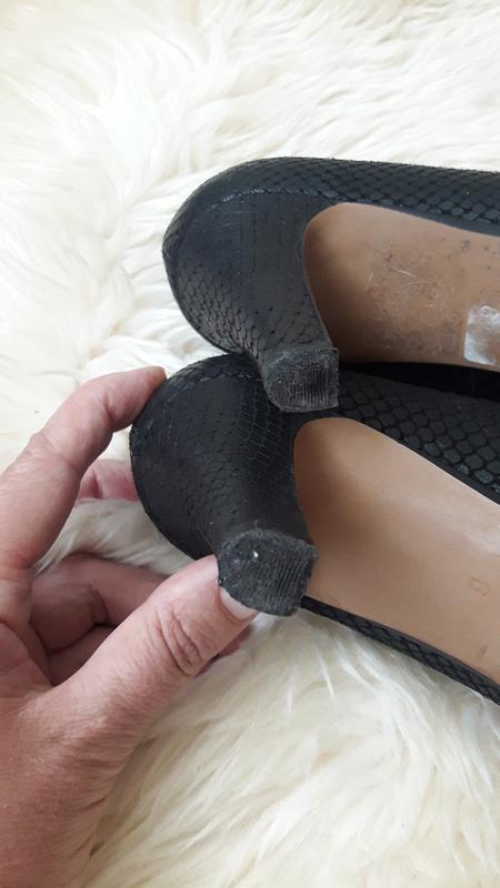 Кожаные туфли clarks 39 размер - Фото 7