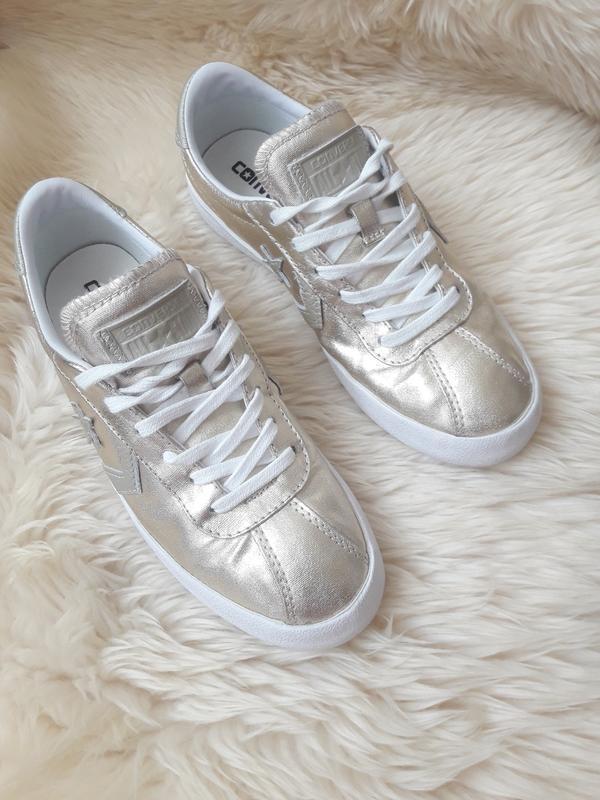 Золотистые кеды кроссовки converse 38 размер
