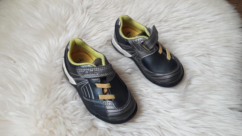 Туфли кроссовки полуботинки clarks 20.5 размер
