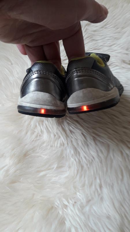 Туфли кроссовки полуботинки clarks 20.5 размер - Фото 5