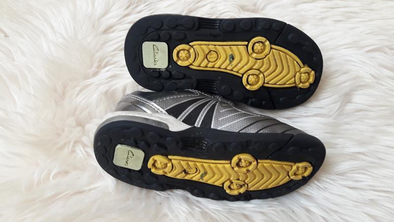 Туфли кроссовки полуботинки clarks 20.5 размер - Фото 6