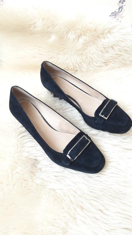 Замшевые туфли footglove 39- 39.5 размер