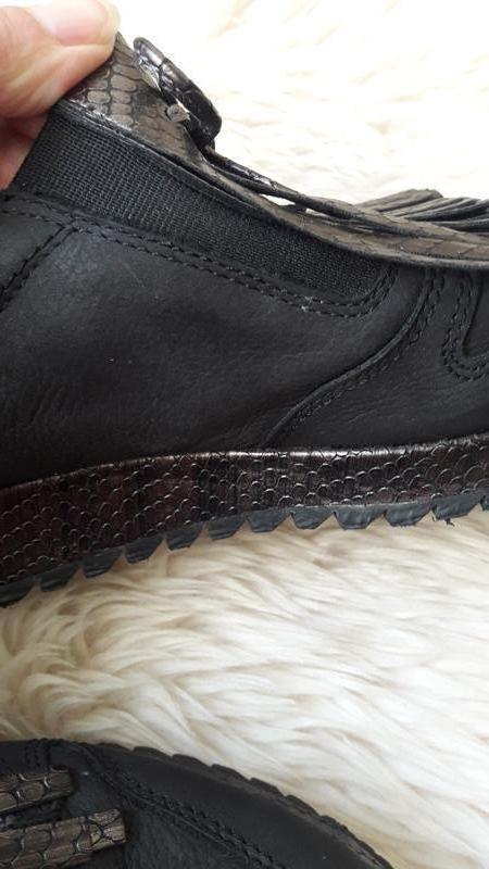 Кожаные туфли tamaris 39 размер - Фото 5