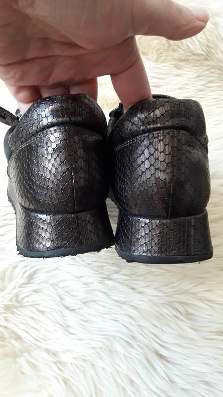Кожаные туфли tamaris 39 размер - Фото 6