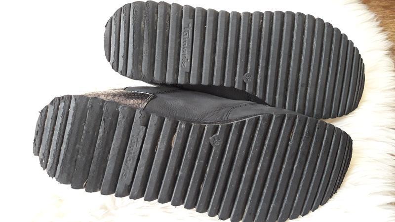 Кожаные туфли tamaris 39 размер - Фото 10