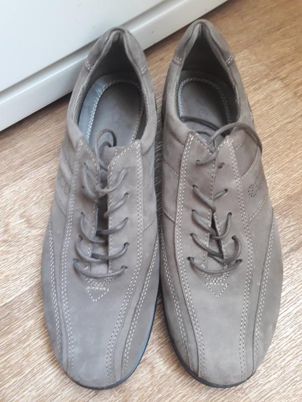 Туфли  полуботинки ecco 40 размер