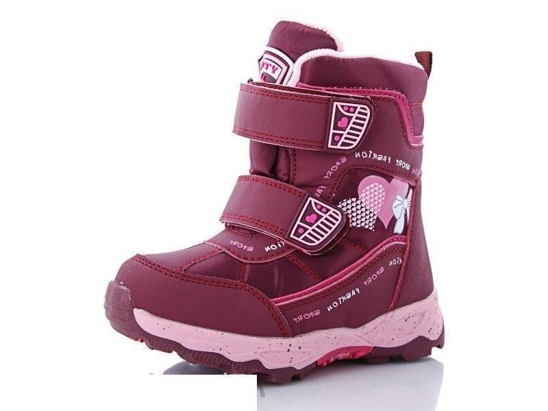 Ботинки зимние девочке 27-32- y-top-