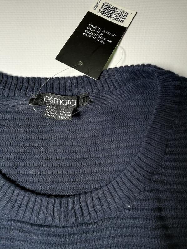 Вязаный джемпер, пуловер l 44-46 esmara, германия - Фото 5