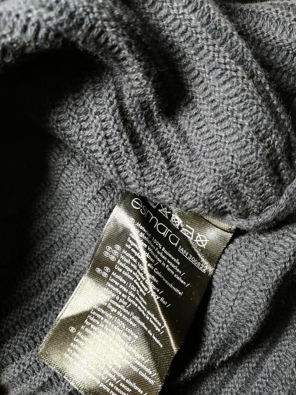 Вязаный джемпер, пуловер l 44-46 esmara, германия - Фото 7