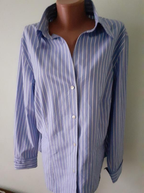 Рубашка в полоску, блуза