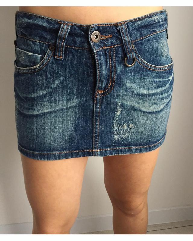 Спідниця, мини-юбка, юбка джинсовая.