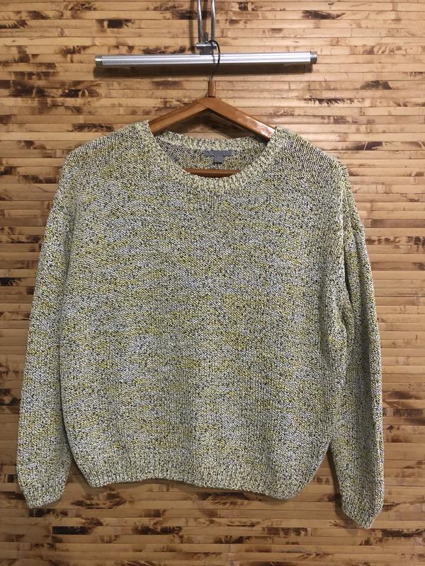 Кофта свитер пуловер cos салатового цвета
