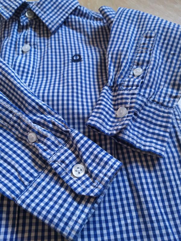 Рубашка на мальчика - Фото 5