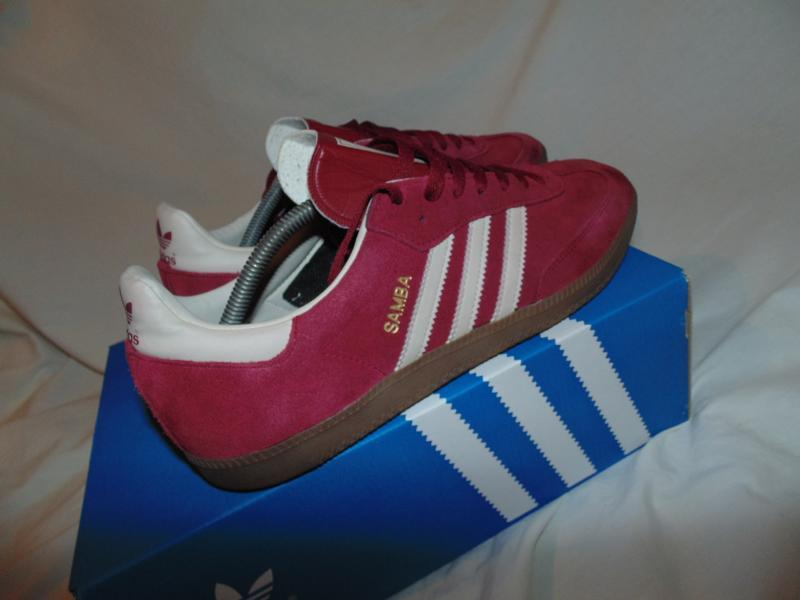 Кроссовки adidas samba оригинал замша коробка