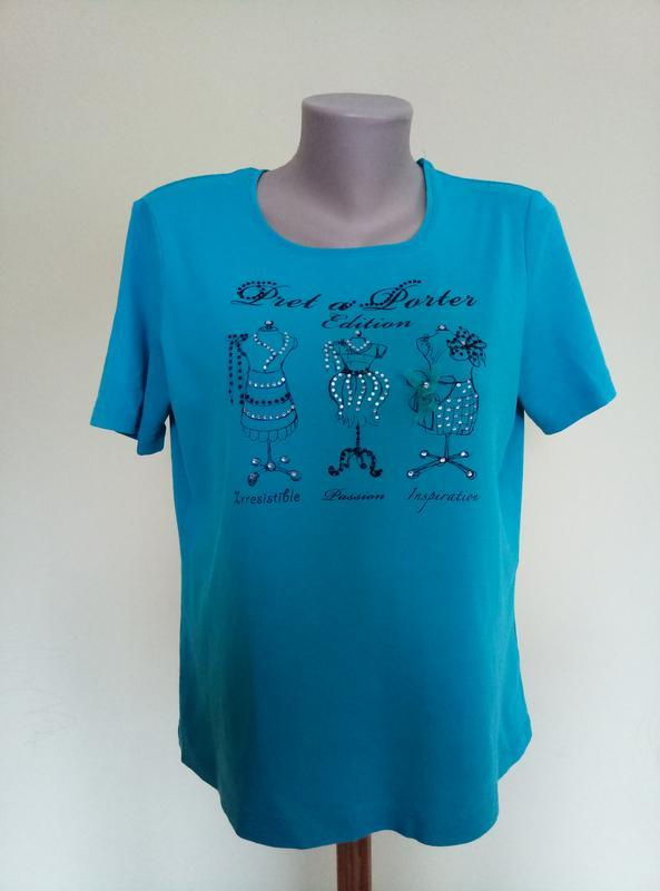 Немецкая трикотажная блузочка футболка