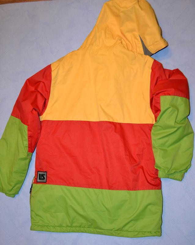Лыжная куртка burton рост 148/155 см, на 14-16 лет - Фото 2