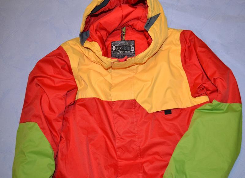 Лыжная куртка burton рост 148/155 см, на 14-16 лет - Фото 3