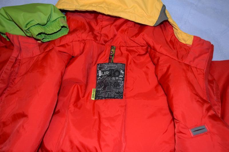 Лыжная куртка burton рост 148/155 см, на 14-16 лет - Фото 4