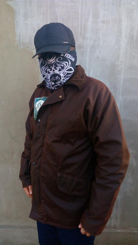 Вощеная куртка oxford