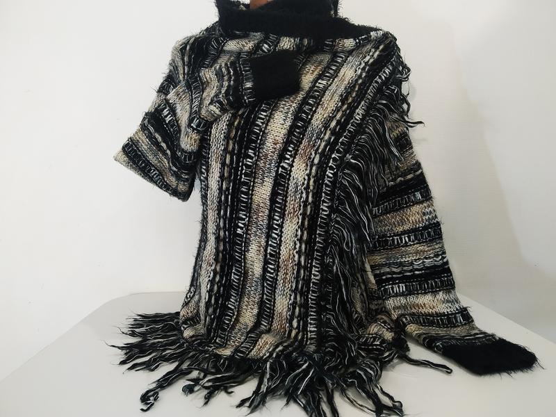 Винтажная кофта накидка vintage dressing