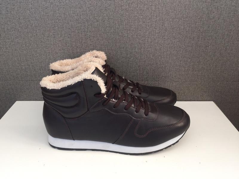 Зимові чоловічі черевики in extenso зимние мужские ботинки сапоги