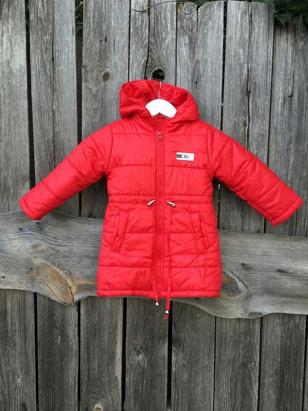 Курточка удлиненная куртка деми еврозима