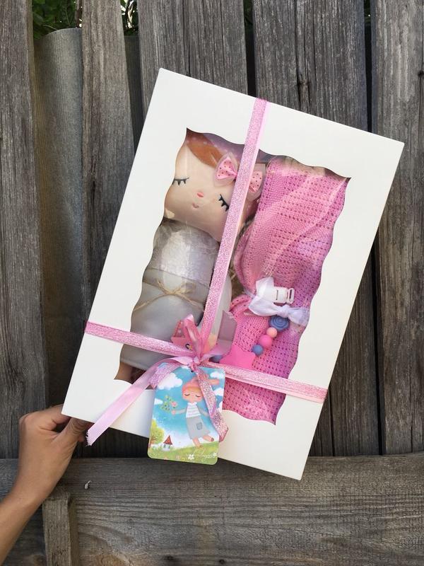 Подарочный набор для новорожденных, набор на выписку, крестины...