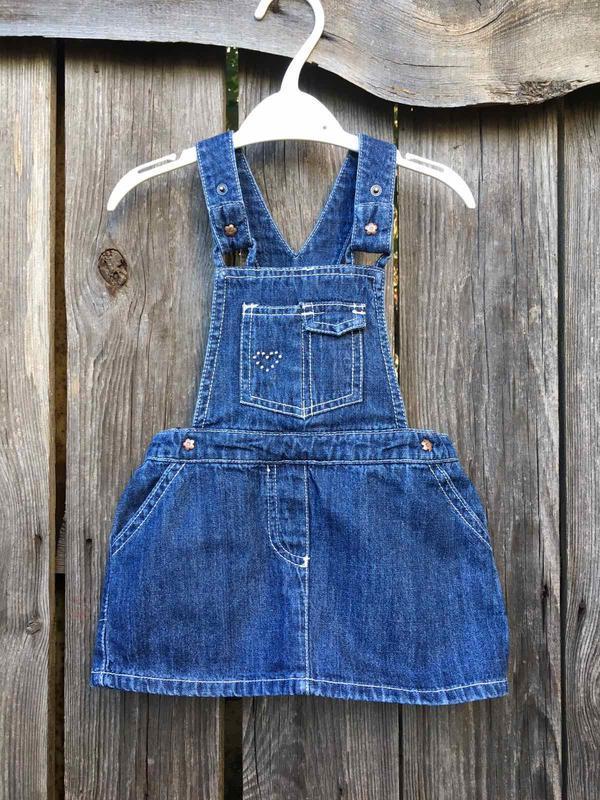 Комбинезон на девочку полукомбинезон джинсовый юбка