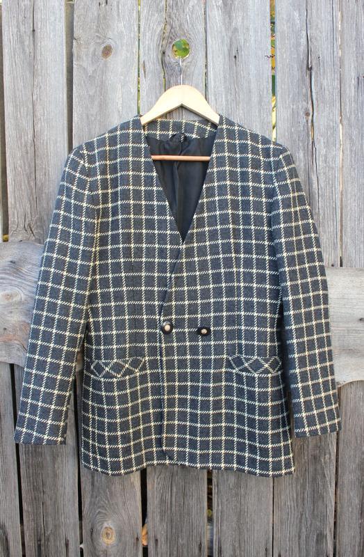 Тренд 🔥 шерстяной пиджак, пиджак в клетку, удлиненный жакет
