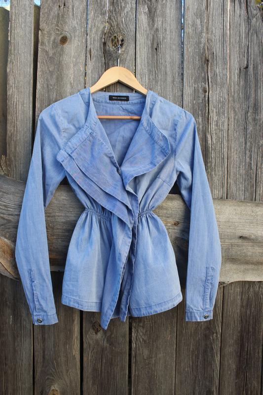 Красивая блузка рубашка под джинс