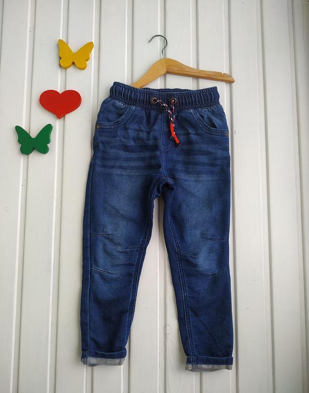 4-5 лет, джинсы мягенькие,george