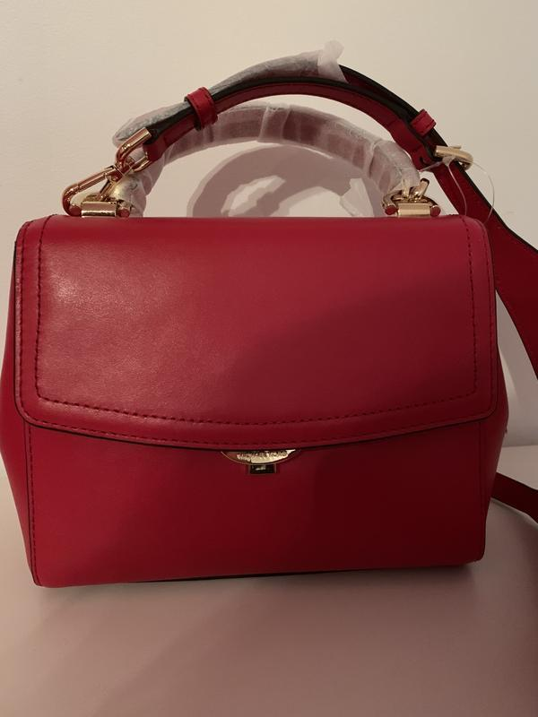 Кожаная сумка бренда michael kors ava small оригинал из сша