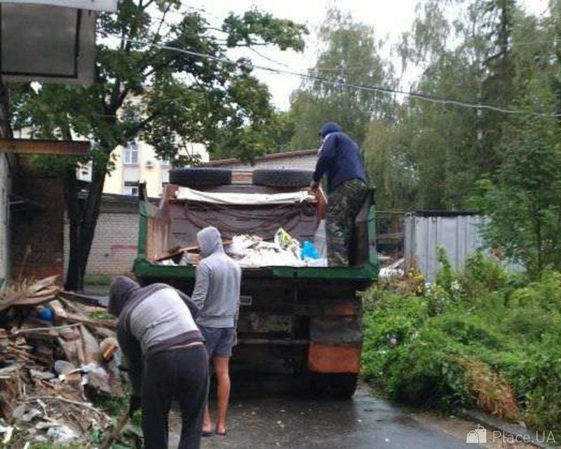 Вывоз мусора камаз зил газель услуги разнорабочих грузчиков