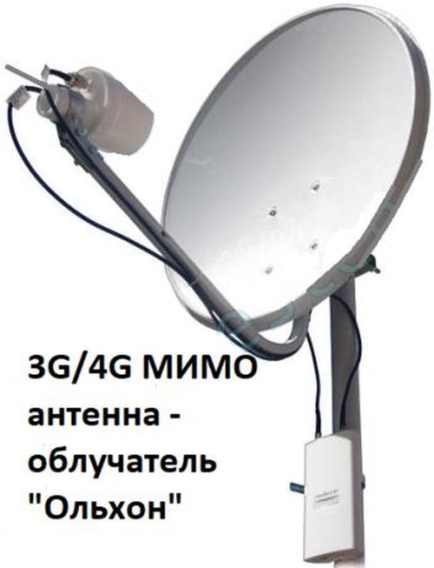 """Мощная скоростная антенна """"САРМА - MIMO"""" 4G 3G LTE мобильного ... - Фото 7"""